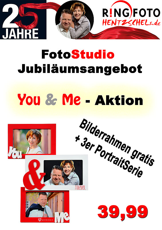 You & Me Shooting mit Gratis Bilderrahmen
